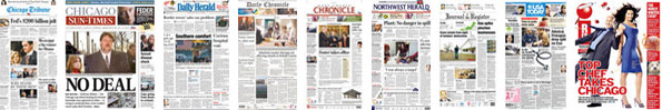 Chicago Area Newspapers