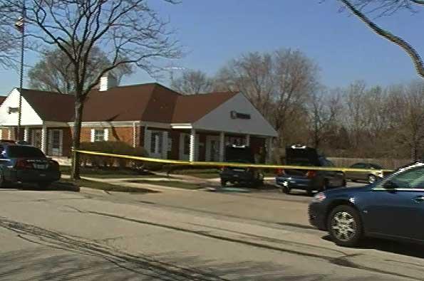 Harris Bank armed robbery 4-24-2009