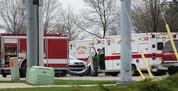 Mount Prospect Fire Department Ambulance 14