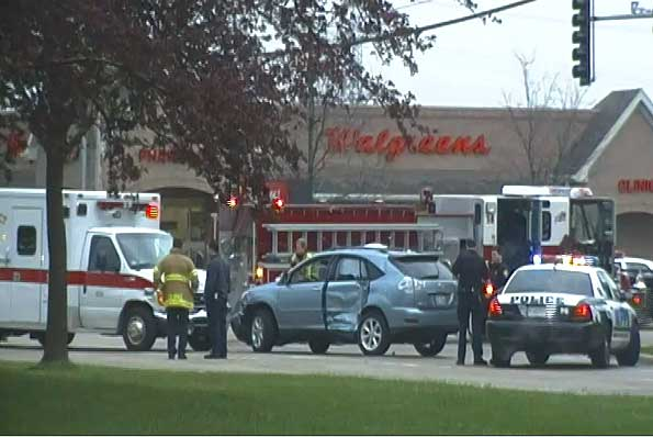 Mount Prospect Fire Department Ambulance Crash