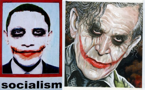 Obama-Bush-Joker