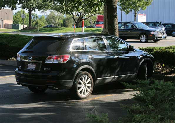 Mazda-CX-9-black