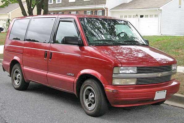 Chevy-Astrovan
