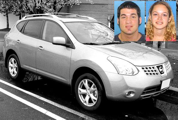 Nissan Rogue Daniel Baker Kristana Aksman