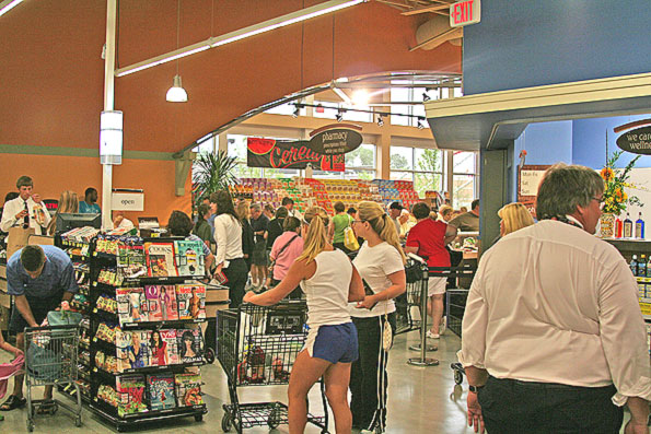 Mariano's Opens: Huge Crowd is Happy with New Area Grocer; Hours ...