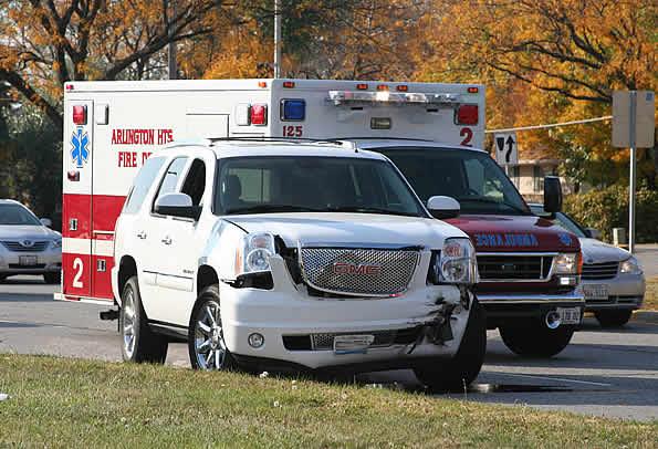 Crash On Palatine Road East Of Rand Injures Woman The Cardinal