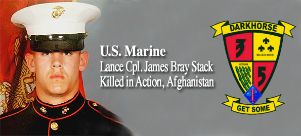 Lance Corporal James B. Stack US. Marines