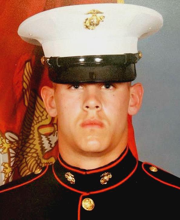 Arlington Heights Marine Lance Cpl James Bray Stack