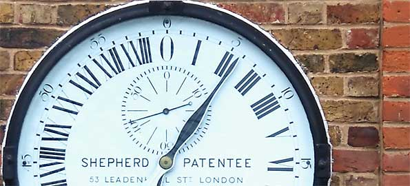 Shepherd Gate Clock