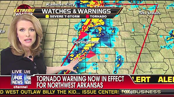 Tornado Warnings on December 31, 2010