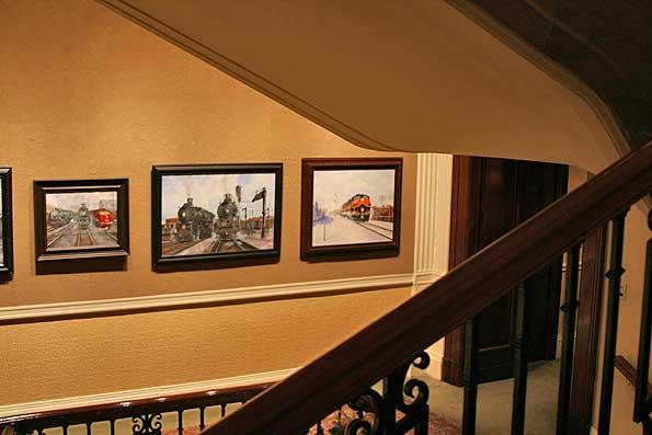 Union League Club Jackson & Federal stairway photo