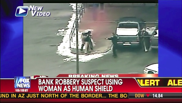 Bank Robber Shot in Front of Capital One Bank in Takoma Park,