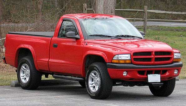 Red Dodge Dakota