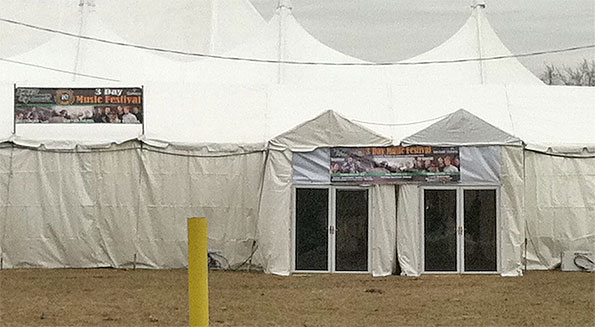Peggy Kinnanes Tent Door Arlington Heights