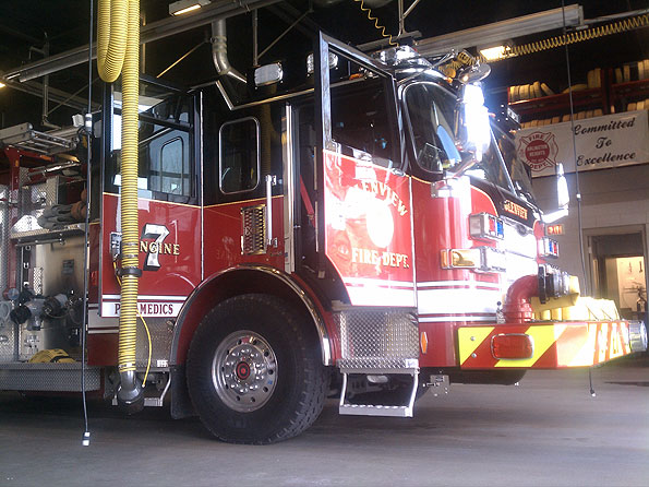 Glenview Fire Department Engine 7