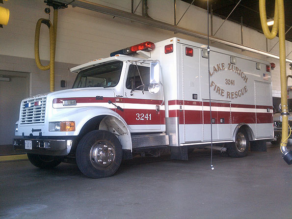 Lake Zurich Fire Rescue Ambulance 3241