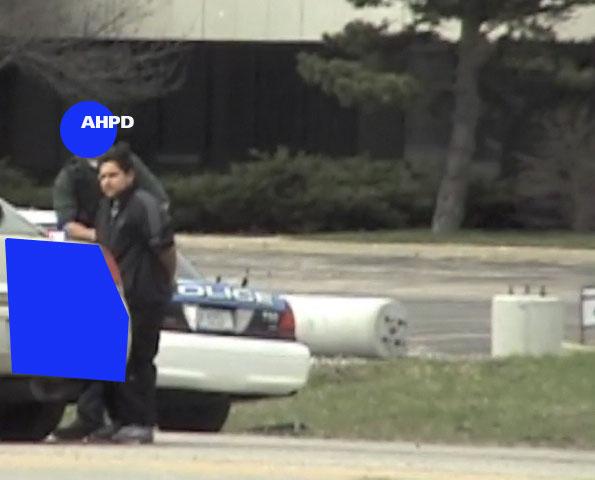 Traffic stop for stabbing investigation