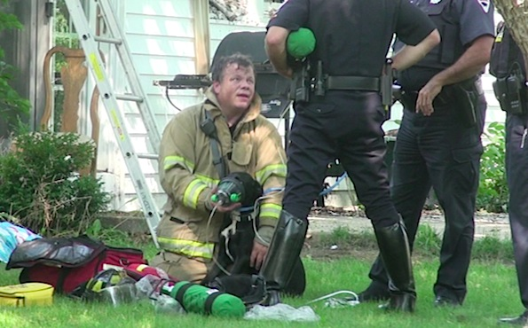House Fire Rescue Rescued From a House Fire