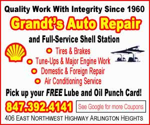Grandts Shell Arlington Heights