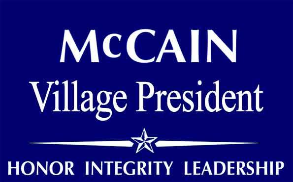 McCainVillagePresident