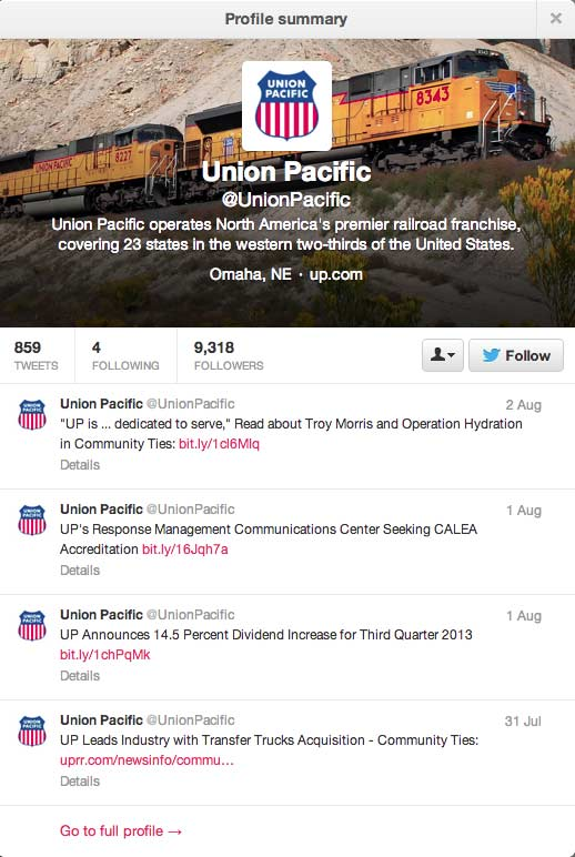 UnionPacificTwitter
