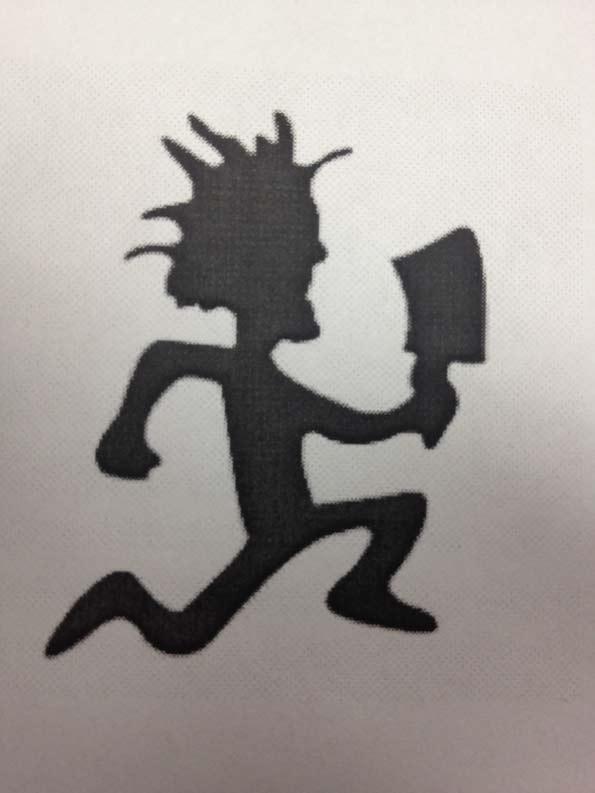 hatchet running man tattoo