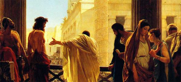 Pontius Pilate Presents Jesus