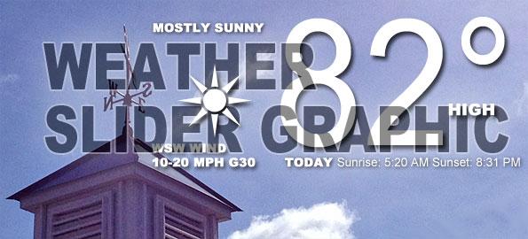 Weather Slider Graphic
