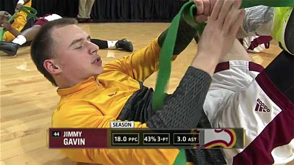 Jimmy Gavin Winthrop NCAA ESPN3