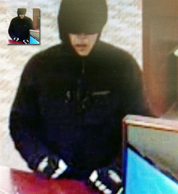 Bank Robbery Suspect Arlington Heights
