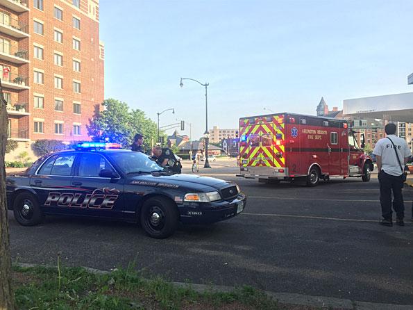 Arlington Heights EMS call