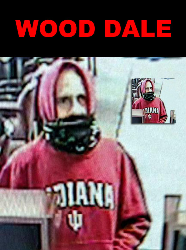Wood Dale Bank Robbery Suspect