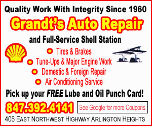 Grandt's Shell Auto Repair Arlington Heights