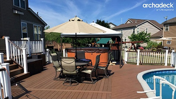 Archadek patio deck
