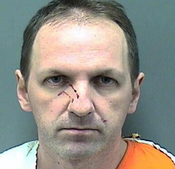 Convicted hatchet murderer.