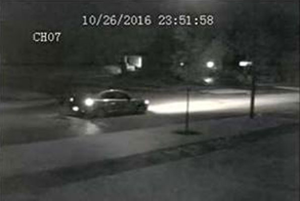 suspect vehicle surveillance video