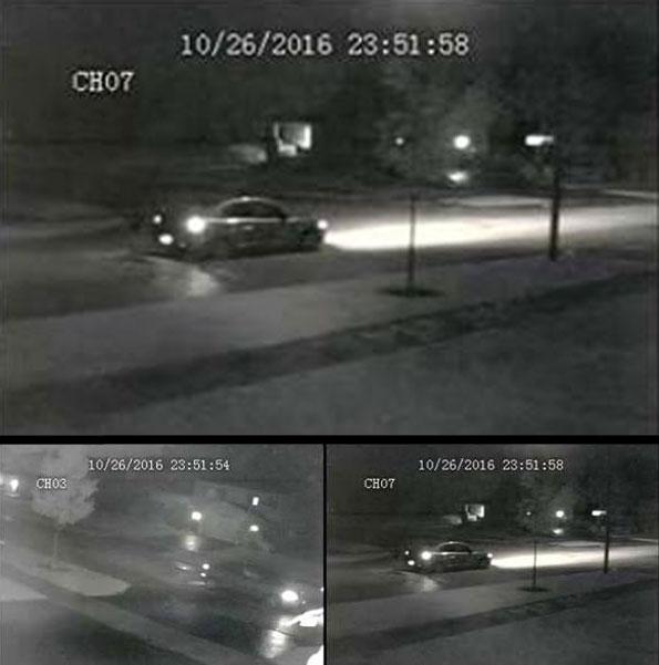 suspect vehicle surveillance camera