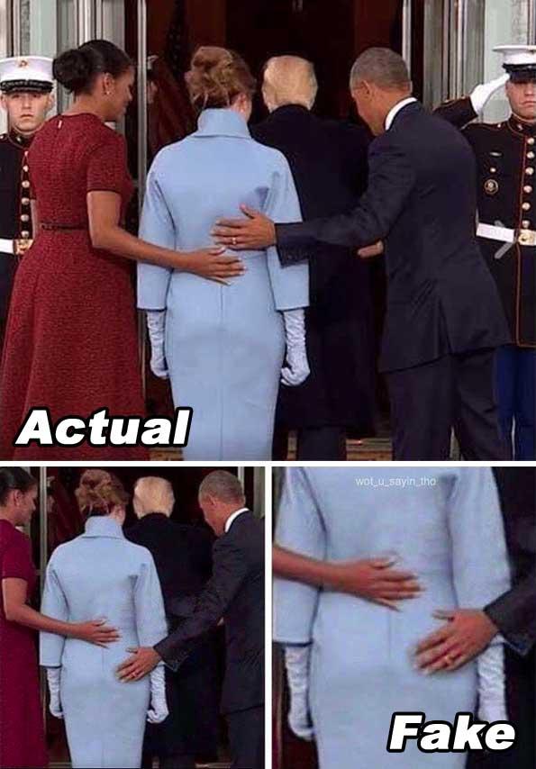 Actual Fake Obamaat Inaugural