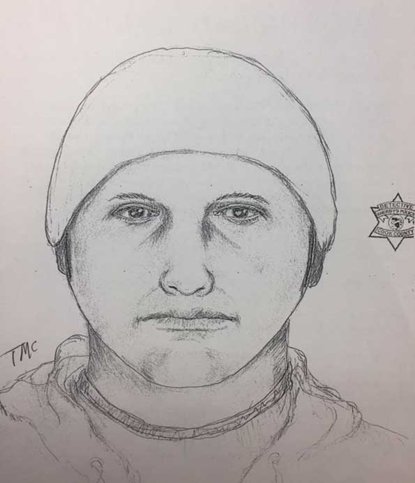 RMPD sketch for armed home invasion, sexual assault