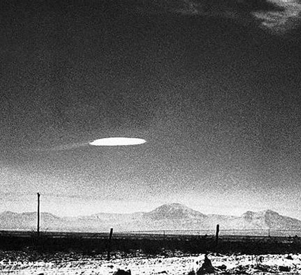 UFO Holloman Air Force Base NewMexico 1964