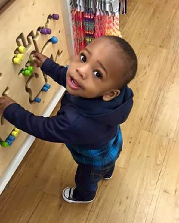 Lavontay White, age 2, Chicago homicide victim.