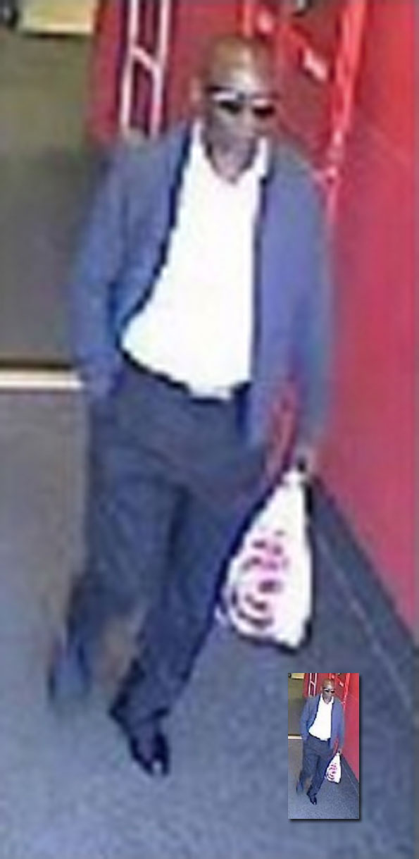 Suspect Target credit card fraud.