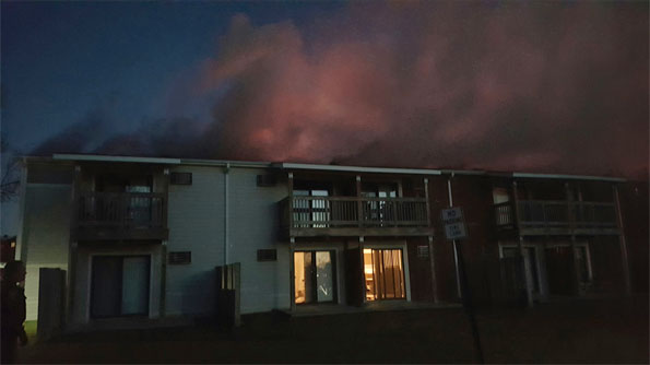 Barrington Lakes Apartment Fire