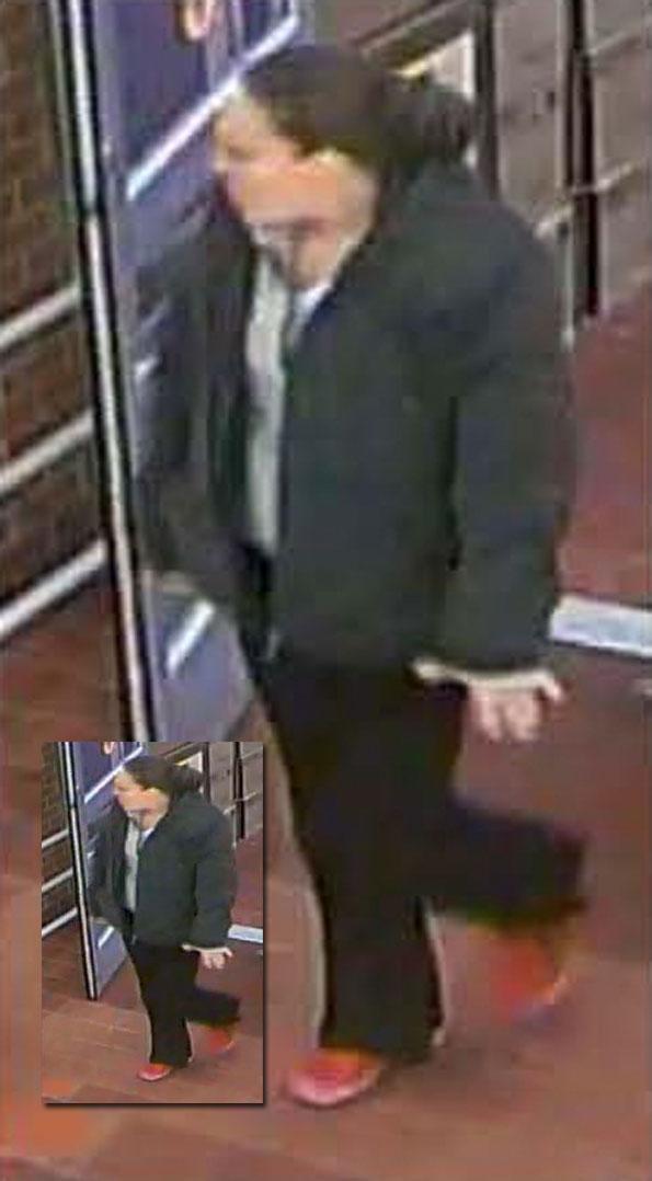 Suspect 2 (surveillance image).