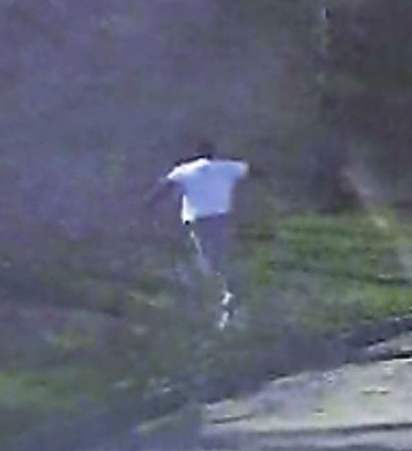 Fleeing Suspect in Lake Forest, Illinois