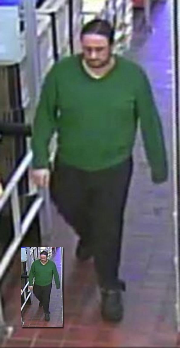Retail theft suspect at Jewel-Osco