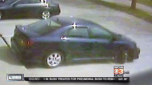 Blue Toyota Corolla carjacking in Naperville