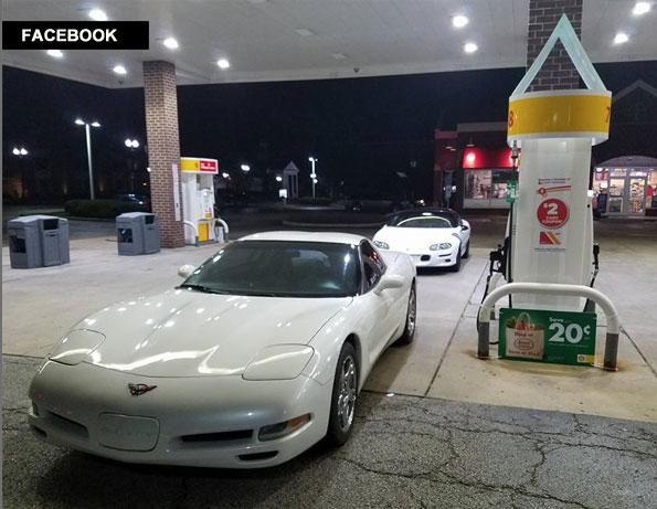 Tyler Smith Facebook Corvette and Camaro