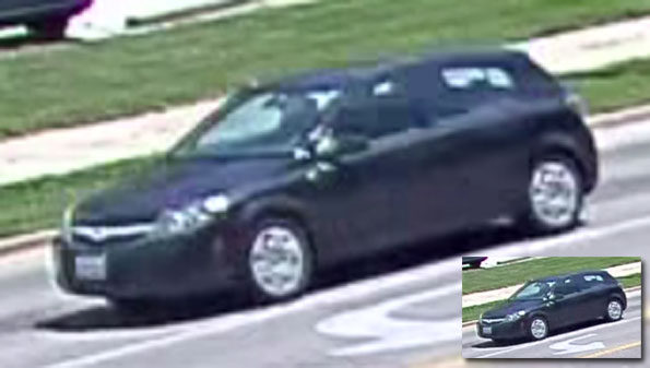 Actual Suspect Vehicle Yingying Zhang Kidnapping