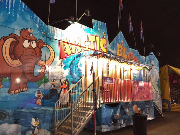 Arctic Blast Frontier Days carnival Arlington Heights